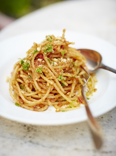 Spaghetti atterrati Recipe